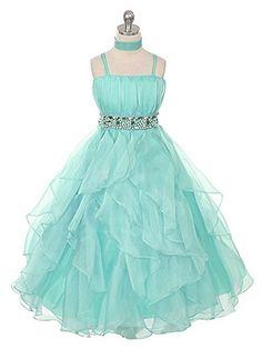Fashion Plaza Girl's Organza Ruffle Flower Girl Pageant Ball Gown Dress K0044 (2, Aqua) Fashion Plaza http://www.amazon.com/dp/B00QBOZ5UY/ref=cm_sw_r_pi_dp_KohQub0MC62CZ