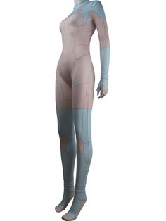 Ghost In The Shell Major Mira Killian cyborg supersoldier cosplay costume jumpsuit leotard halloween make-up comic-con costume gift women girls Video Game Costumes, Comic Con Costumes, Anime Costumes, Girl Costumes, Cosplay Costumes, Female Cyborg, Halloween Make, Costume Halloween, Joker Costume