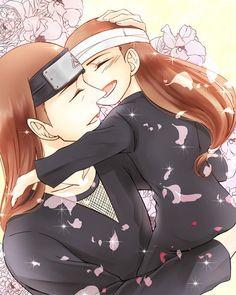 "Hizashi and Neji ""father and son"""