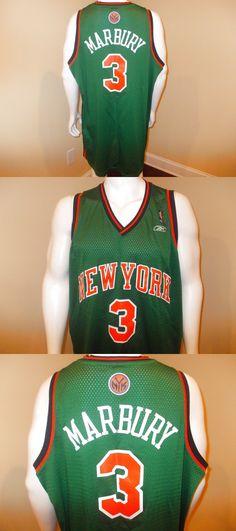 91b9c6efd Stephon Marbury 2006 St Patrick Day New York Knicks Reebok Jersey Men 3XL  Rare  59.99 Stephon