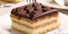Desserts With Biscuits, Cold Desserts, Easy Desserts, French Desserts, Biscuits Graham, Cake Cafe, Cake Recipes, Dessert Recipes, Book Cakes