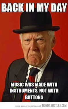 Music in the old days…