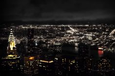 New York City night: one light for every human being  in the World