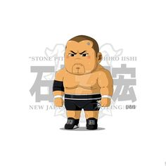 Tomohiro Iishi (NJPW) by https://pandapawpaw.deviantart.com on @DeviantArt