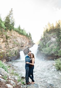 Waterton engagement session - Waterton, Alberta, Canada - Heidrich Photography.