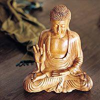 'Buddha in Lotus,' sculpture