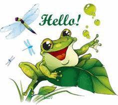 Cartoon Frog Chosen A North Carolina Tree Frog As The