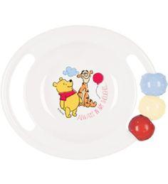 Nalle Puh ABC- lastenastiat on valmistettu turvallisesta ja mikronkestävästä polypropyleenista. 5,60€