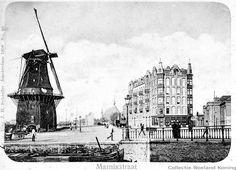 Einde Rozengracht ter hoogte van de Marnixstraat met zicht op de De Clercqstraat in aanbouw. Collectie Roeland Koning