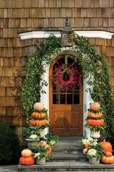 Festive Fall Wreath Ideas: Bittersweet Vine Fall Wreath