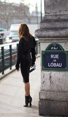 """La """"classe"""", rue de Lobau... (Paris 4ème)"""