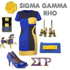Sigma Gamma Rho Shoes | Sigma Gamma Rho inspired outfit... I would DEFINITELY change the shoes ...