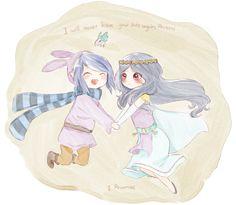 Hilda and Ravio