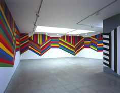 Sol Le Witt, wall drawing 2004