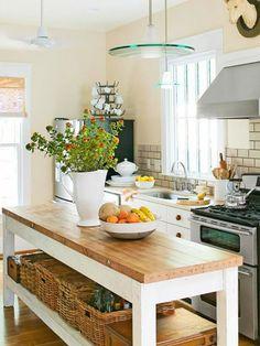 kücheninsel schlichte Kommode mit viel Stauraum