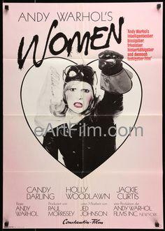 Women In Revolt-Andy Warhol-Candy Darling-Holly Woodlawn-1973-23x33