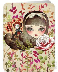 Hidden Garden - Santoro's Eclectic Cards