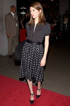 Sofia Coppola attending an event at MOMA in 2002
