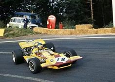Ronnie Peterson, March 701 (Colin Crabbe Racing), French Grand Prix 1970 (Clermont-Ferrand)