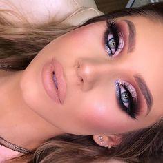 Perfect Make – Night Makeup – Vacker och professionell makeup – Beleza Glam Makeup, Casual Makeup, Bronze Makeup, Eye Makeup Art, Sexy Makeup, Eyeshadow Makeup, Bridal Makeup, Wedding Makeup, Makeup Cosmetics