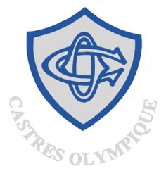 Castres Olympique (France) Rugby Sport, Rugby Club, Top 14, A Team, Team Logo, French League, Rugby Championship, Team Mascots, Sports Clubs
