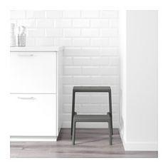MÄSTERBY kruk | #IKEA #IKEAnl #grijs #keuken #kruk #wit
