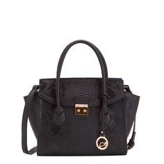 TASSA - HANDBAG | #spring #woman #luxury #collection #bag #black #carpisa