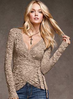 Lace Wrap Top - Victoria's Secret