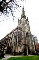 St Alkmunds Church, Shrewsbury....Where John Wesley first spoke.  Visited there!