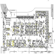 2d cad drawing of hospital autocad software detailed with various