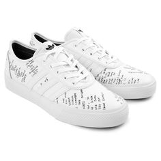4fe252a6ca98 Adi Ease Classified Shoes in White   Core Black   Blue Bird by Adidas  Skateboarding