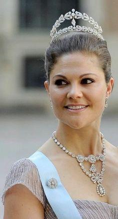 Princess Victoria, future Queen of Sweden.