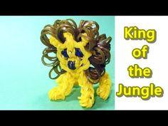 ▶ Rainbow Loom Charms: LION: How to Tutorial / Design (DIY Mommy) - YouTube