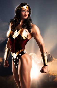 What a Woman, I mean Wonder Woman.