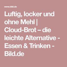 Luftig, locker und ohne Mehl   Cloud-Brot – die leichte Alternative - Essen & Trinken - Bild.de
