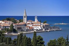 Lovely photo of our old town. • Check more info about this wonderful city on www.to-porec.com • #porec #parenzo #istra #istria #istrien #croatia #kroatien #adriatic #europe #travel