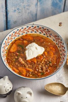 Hungarian Recipes, Hungarian Food, Good Food, Yummy Food, Chana Masala, Soup Recipes, Chili, Curry, Food And Drink