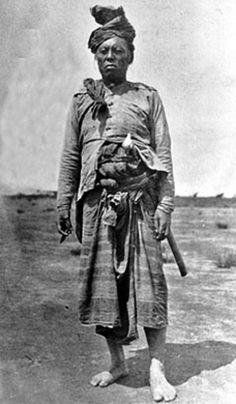 Moro Datu  (duly identified as the Datu Grande of Macadar by Capt J.Pershing)