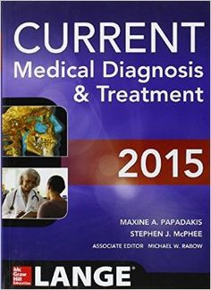 To deliver the best care to your patients, turn to the #1 annually updated guide in internal medicine and clinical practice.The 2015 Edition is packed with important NEW information! For more than 70 years, professors, students, and clinicians have trusted LANGE for high-quality, current,...