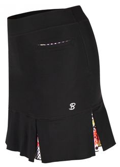"If you're in the market for some new outfits, consider our women's apparel! Shop this comfortable and stylish COLORS COLLECTION (Black) Sofibella Ladies 18"" Pull On Golf Skort from Lori's Golf Shoppe."