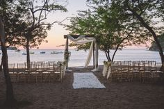 An intimate ceremony location that will Wow your guests #DreamsLasMareas #CostaRica #destinationwedding