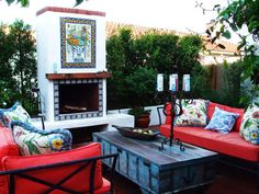 Vibrant Comfort - Mediterranean-Inspired Courtyards on HGTV