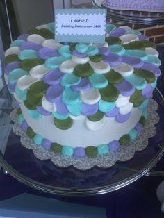 Course 1 sample cake