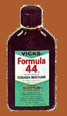1958 Vicks Formula 44 - bad stuff here.  It was black as tar, who knows what was in it!