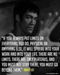 Bruce Lee- because of my brother I know how amazing bruce lee really was, most girls don't know much about him