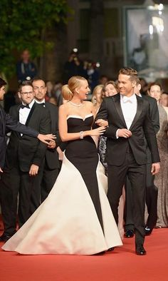 They were every inch the glamorous Hollywood duo when they attended 'The Captive' premiere at Cannes this year. Blake turned heads in a show-stopping strapless monochrome gown, while Ryan echoed his wife's outfit in a smart tuxedo. Photo © Dominique Charriau/WireImage/Getty Images