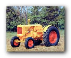 Transform your habitat from boring dull walls into wow in the blink of an eye by hanging this Minneapolis Moline vintage tractor art print poster. It will be a great addition to your home and bring charm into your place. Discover the uniqueness of this poster and Order today for its durable quality and excellent color accuracy.
