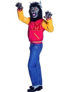 michael jackson thriller werewolf costume for halloween