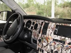 Hydrographic Truck Console