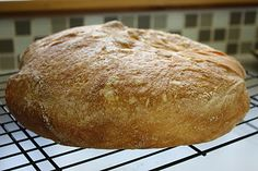 No Knead Bread Recipe from   Mother Earth News and  Frugal by Choice, Cheap by Necessity: Stressed out about homemade bread? There is no knead to worry!    NOTE: I have been making this bread for the past few years and it is delightfully chewy and crusty....try it.